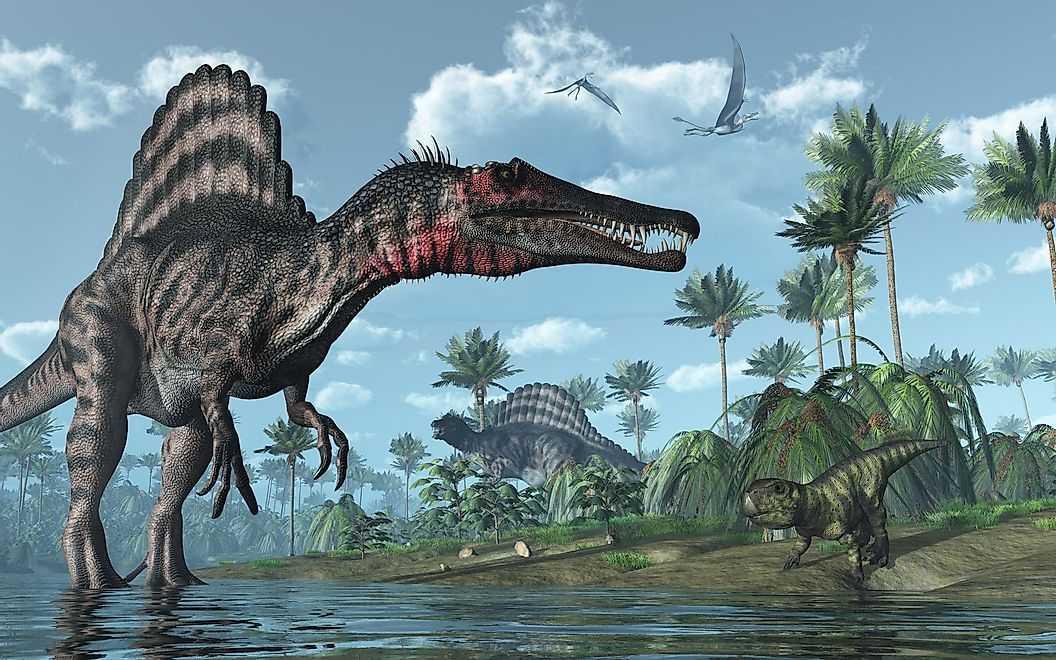 Плавающий Динозавр