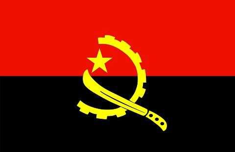 Флаг государства Ангола