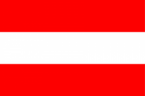 Флаг страны Австрии