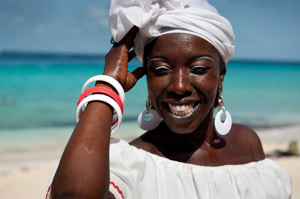 Жители багамских островов