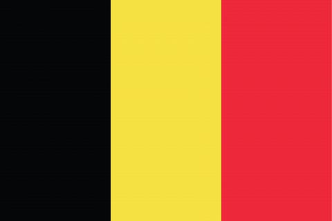 Флаг государства Бельгии