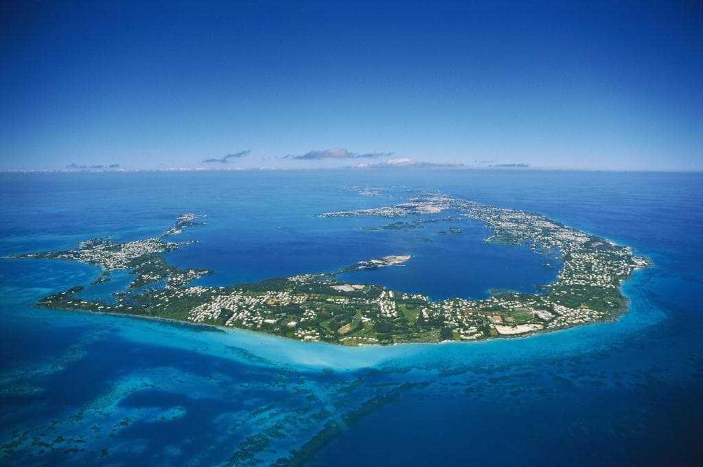 Ландшафт Бермудских островов