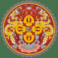 Герб страны Бутан