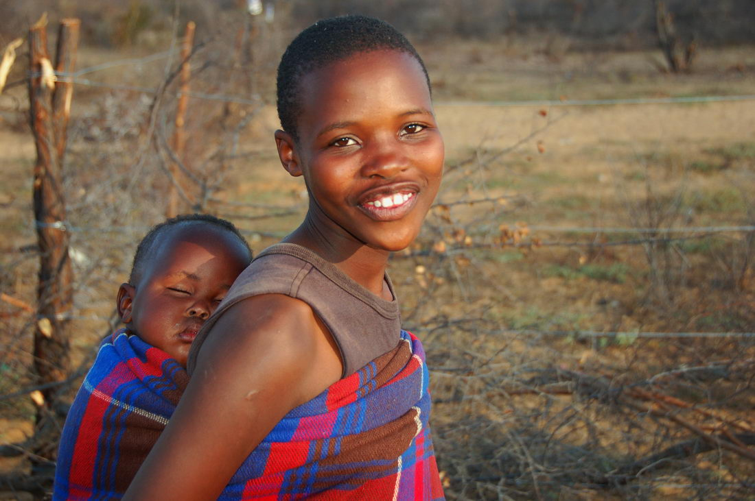 Ботсвана жители