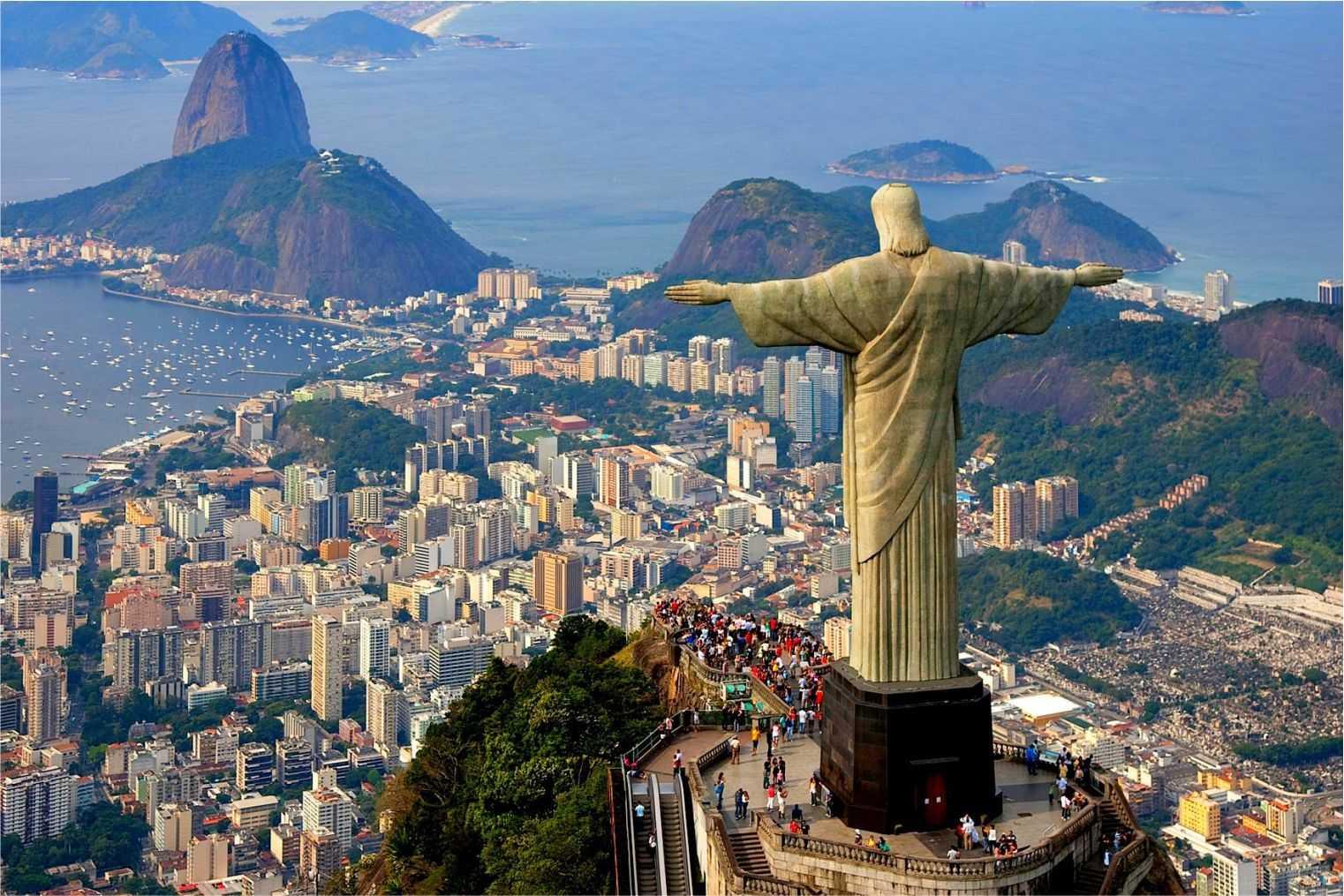 Здравствуйте. Город Рио-де-Жанейро в Бразилии