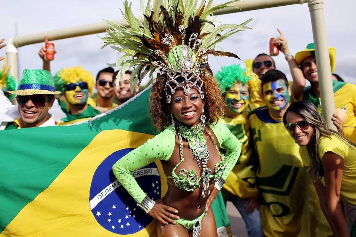 Бразилия люди