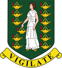 Герб государства Британские виргинские острова