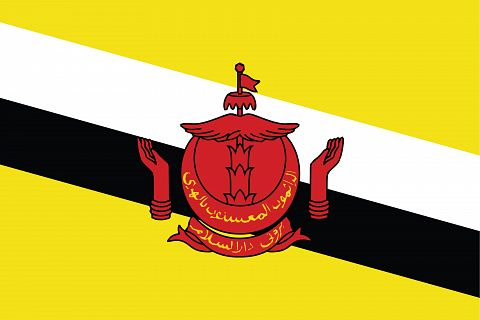 Флаг Бруней-Даруссалам