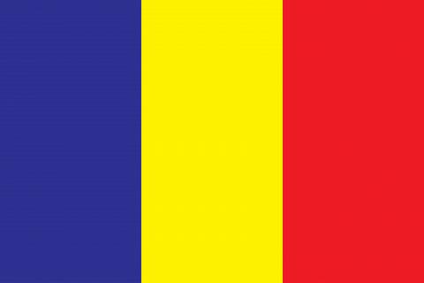 Республика Чад флаг