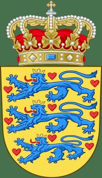 Герб Дании