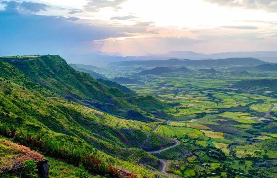Эфиопия природа
