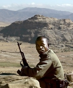 Эритрея - пограничная война