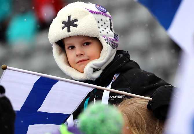 Финляндия население