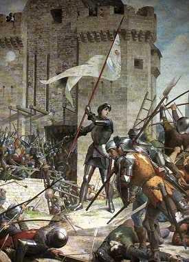 Франция Столетняя война. Жанна д'Арк