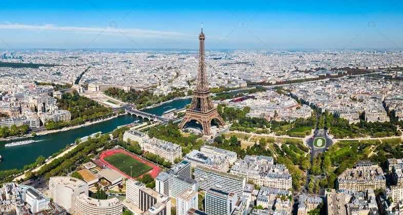 Столица Франции город Париж