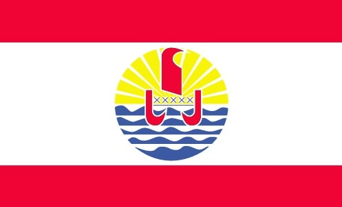 Французская Полинезия флаг