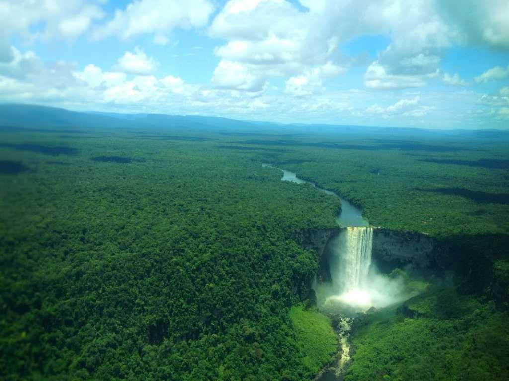 Гайана природа