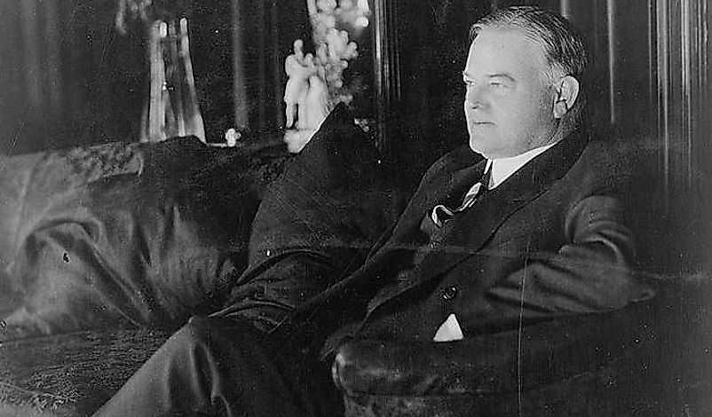 Герберт Гувер президент США