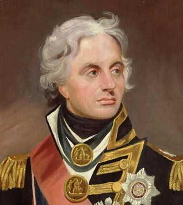 Гора́цио Не́льсон — командующий британским флотом