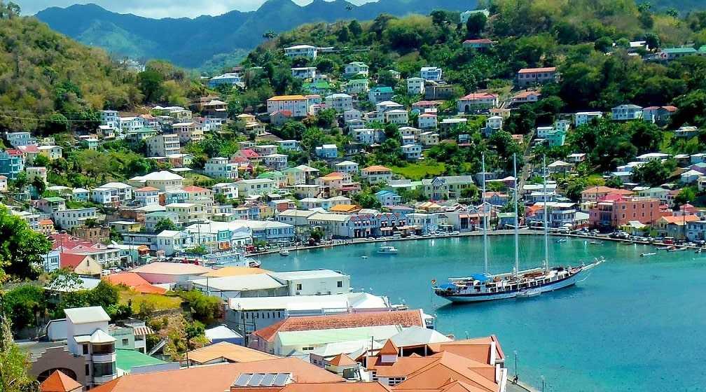 Столица Гренады Сент-Джорджес