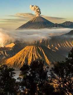 Индонезия вулканы