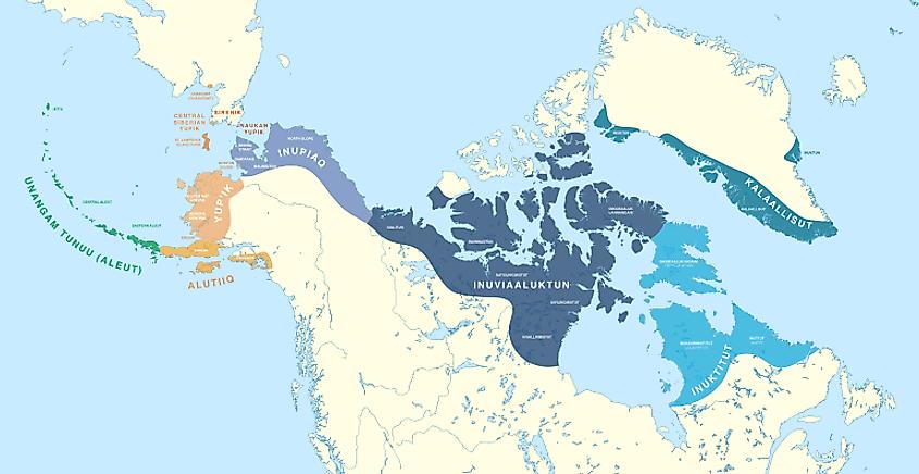 Где живут Инуиты?