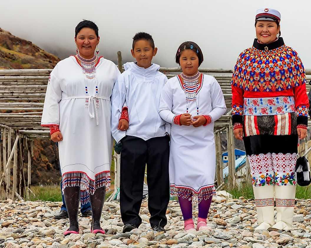 Верования и культурные обычаи Инуитов