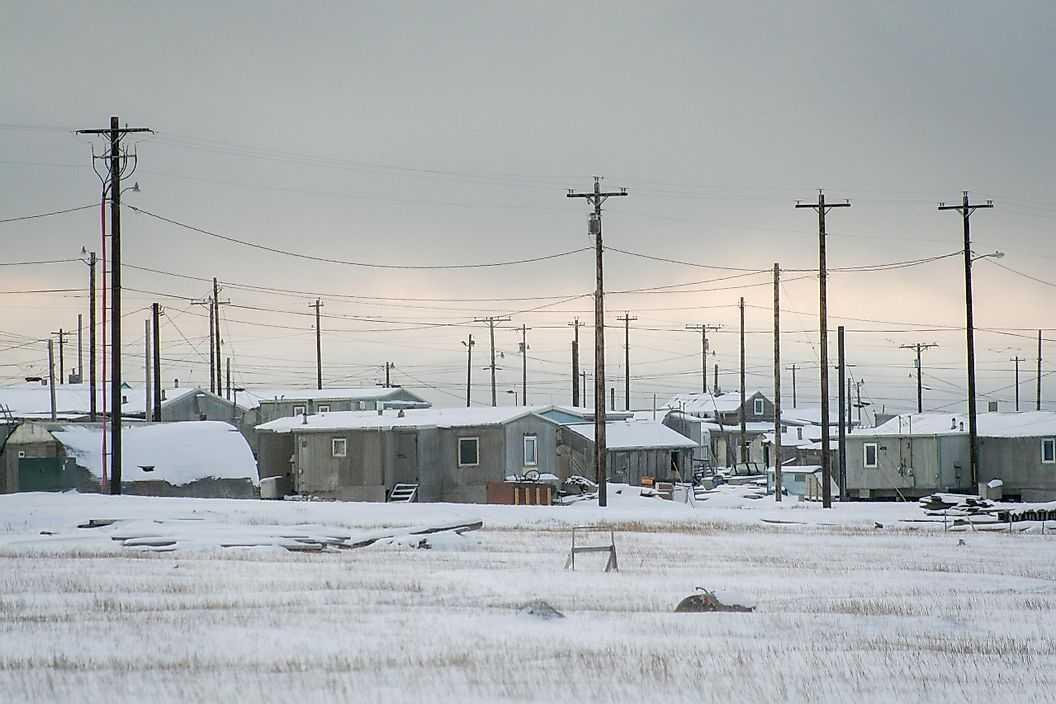 Современная жизнь Инуитов