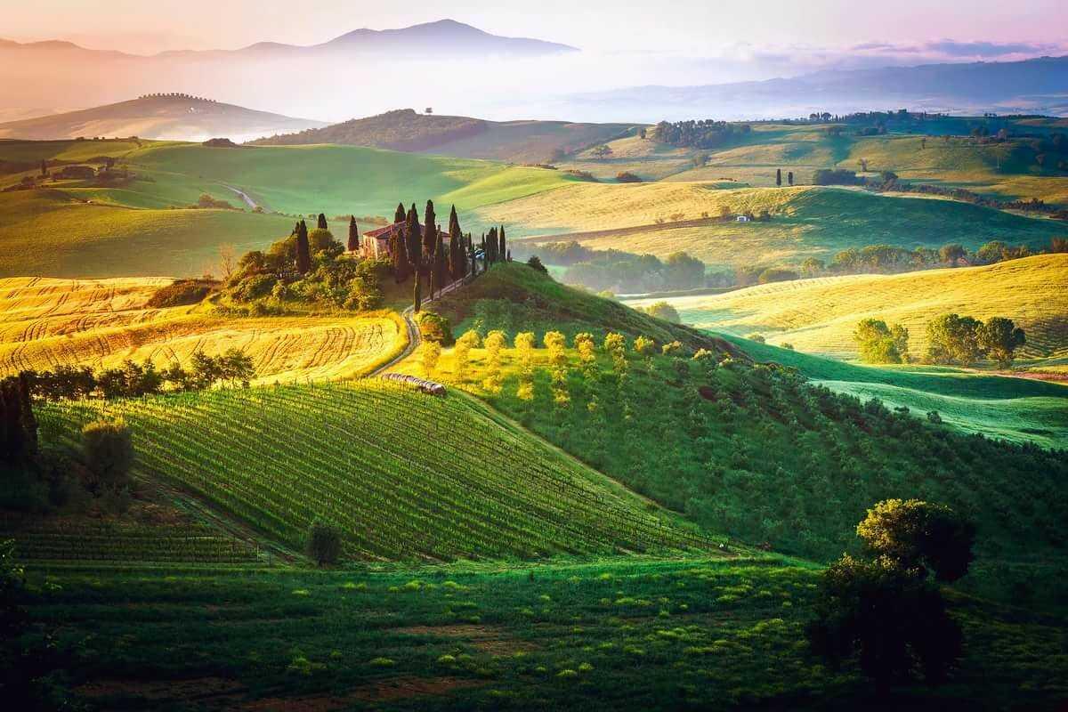 Италия природа