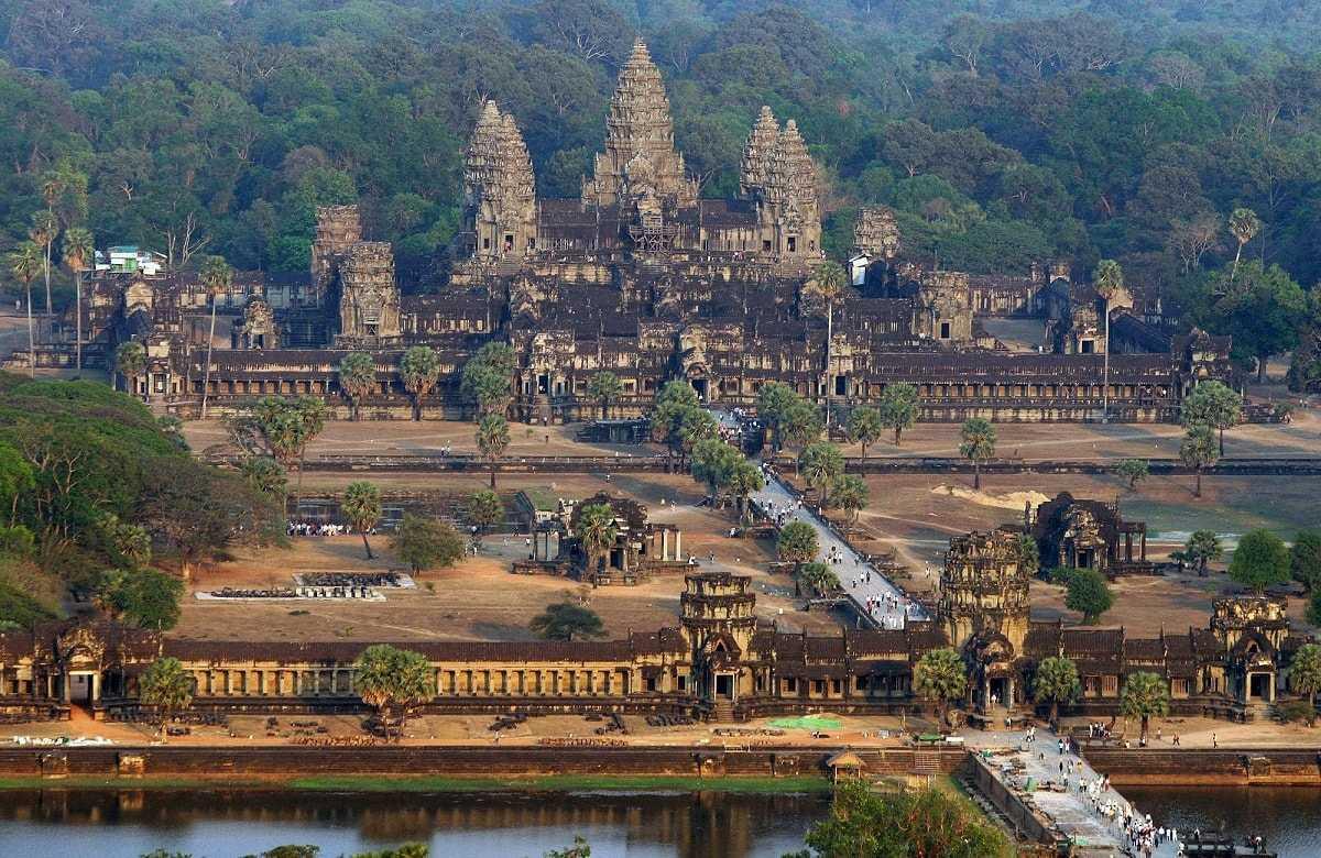 Ангкор-ват Камбоджа