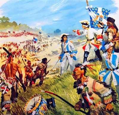 Война между французами и англичанами в Канаде