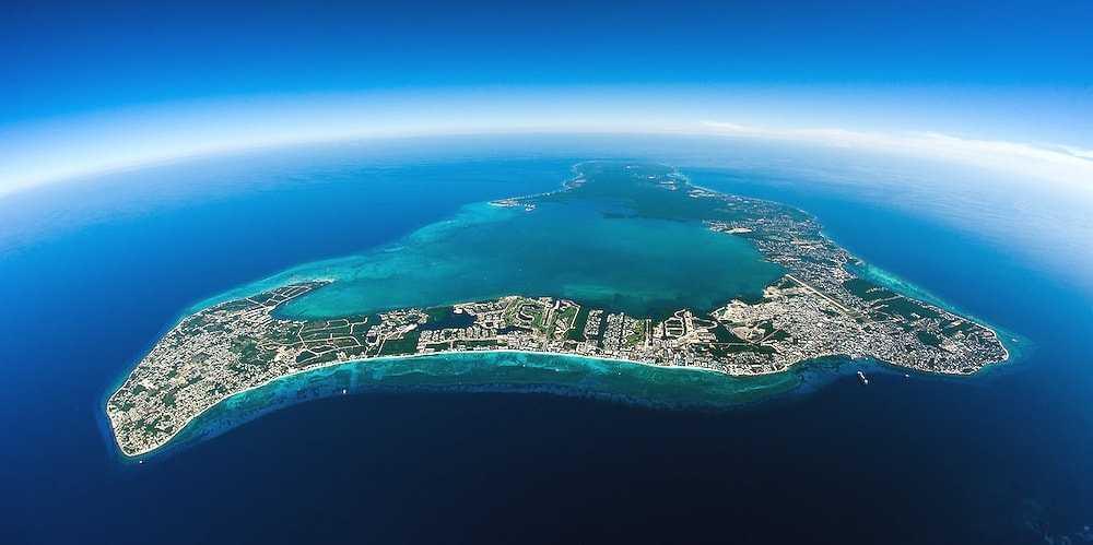 Каймановы острова ландшафт