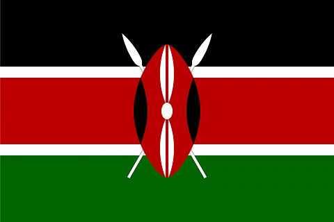 Кения флаг