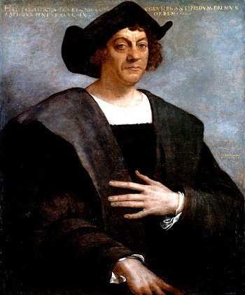 Мореплаватель Христофор Колумб.