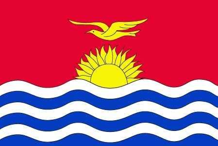 Кирибати флаг