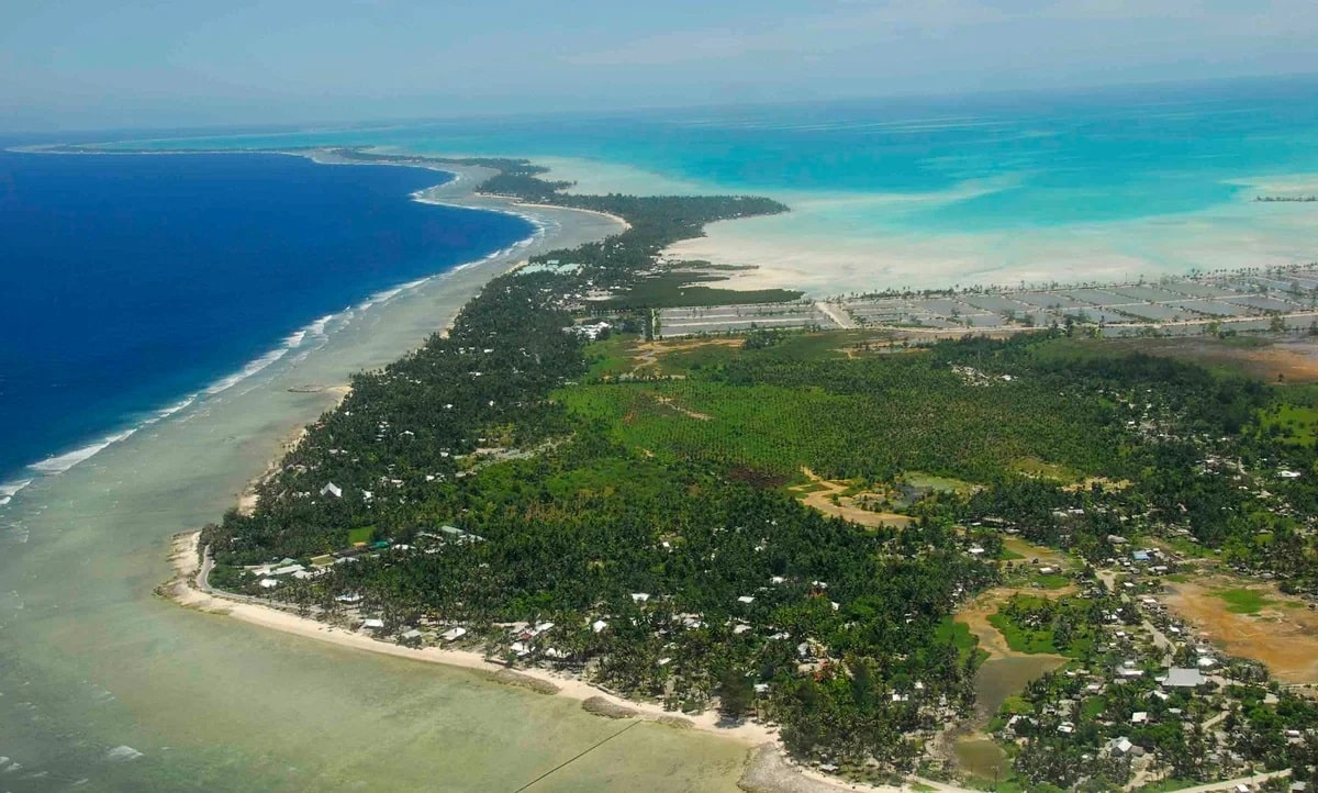Кирибати природа