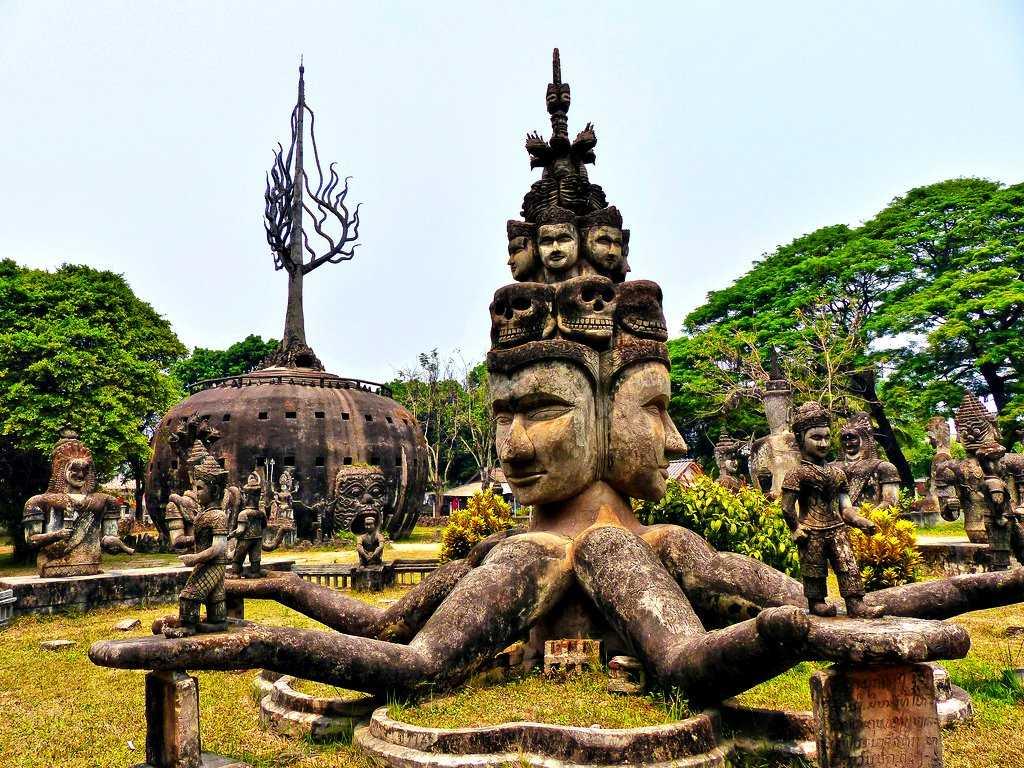 Будда парк Вьентьян