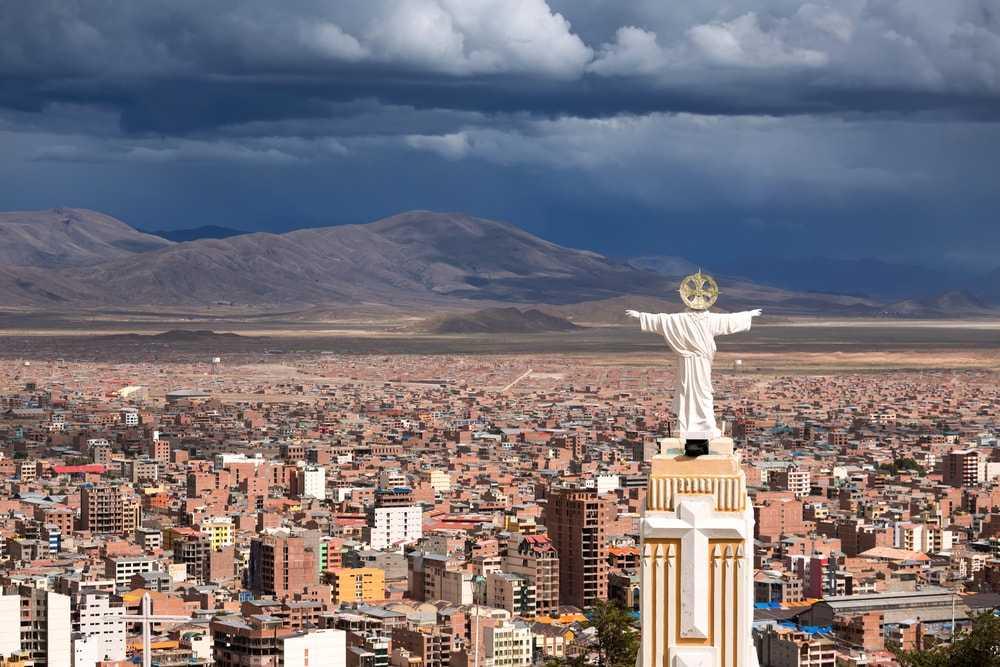 Фото столицы Боливии