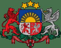 Латвия герб
