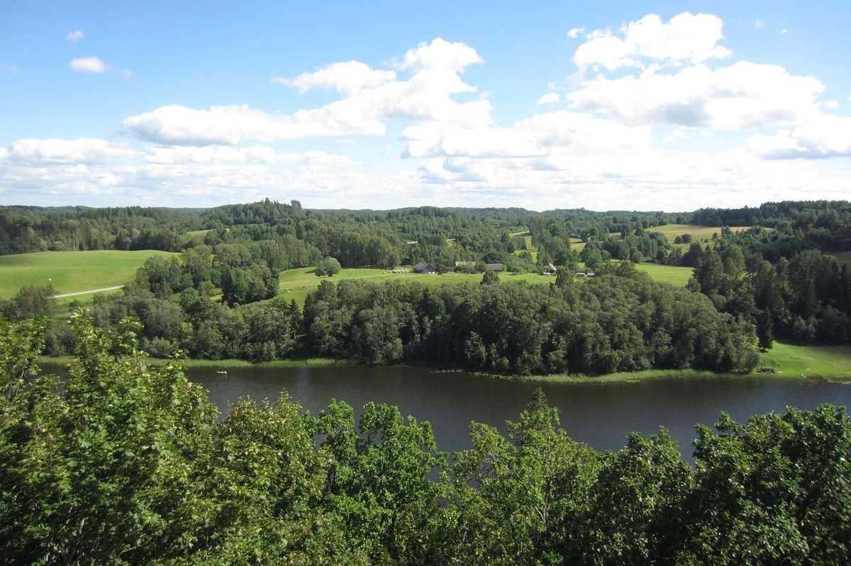 Латвия природа