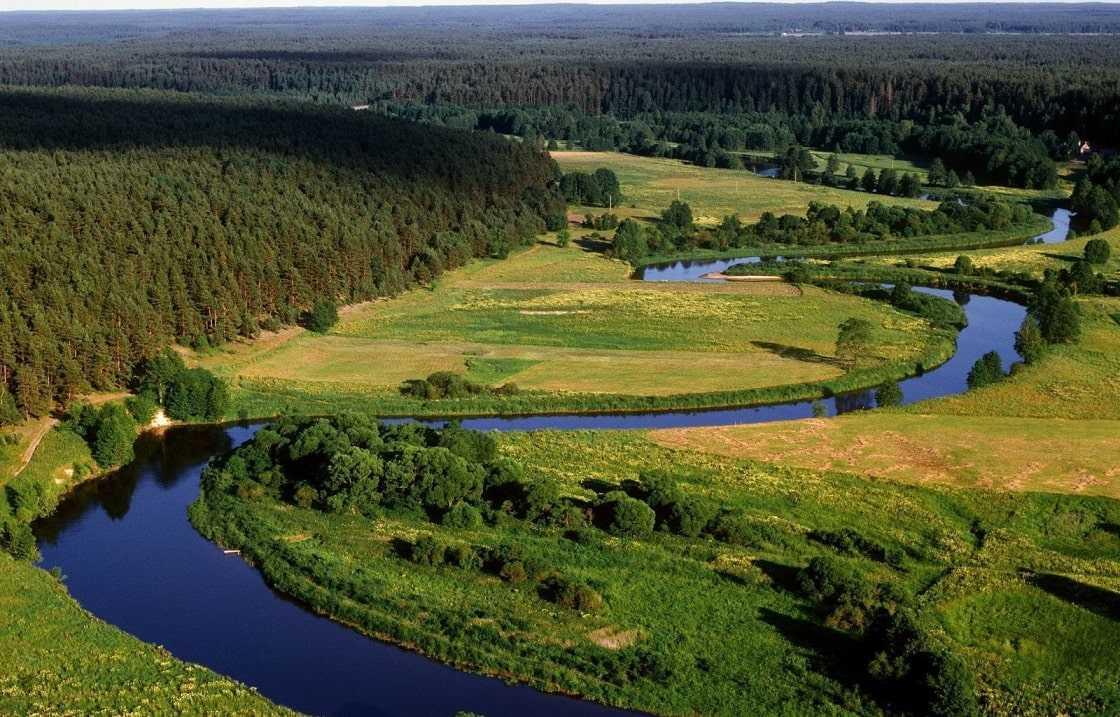 Литва природа