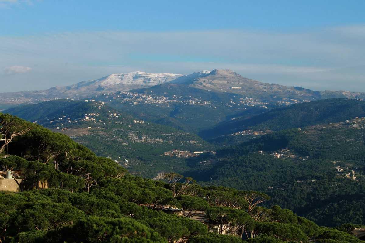 Ливан природа