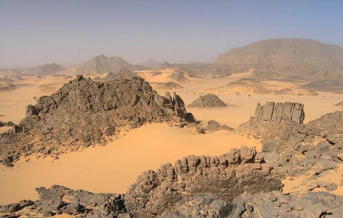 Ливия природа