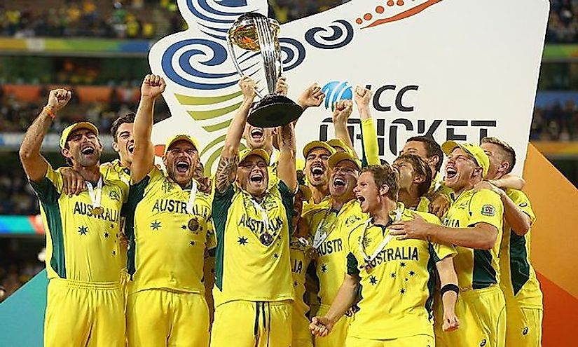 Лучшие национальные команды по крикету