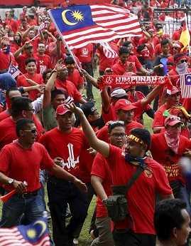 Малайзия митинги