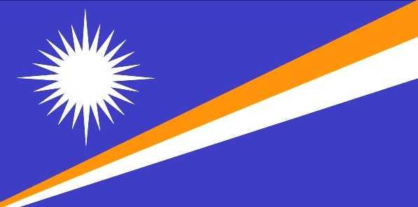 Маршалловы Острова флаг