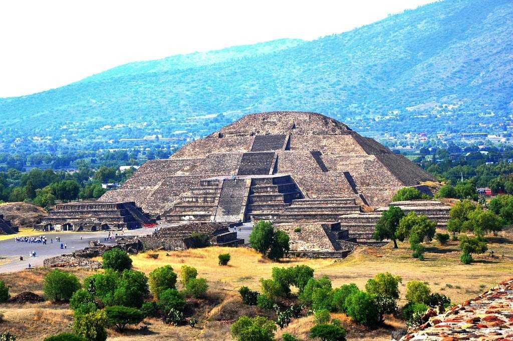 Мексика Пирамиды Теотиуакан