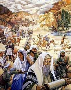 Моисей в пустыне