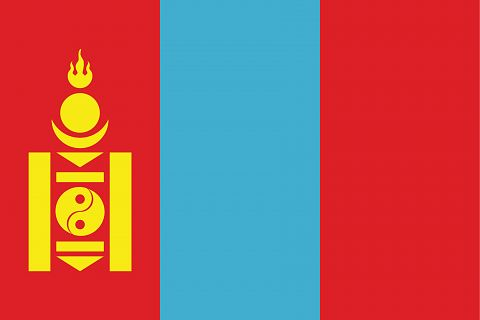 Монголия флаг