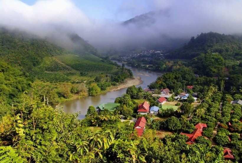 Мьянма природа